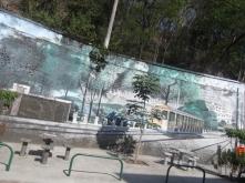 Art street tranvia en Santa Teresanvíavia Santa Teresa