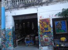 Tienda de arte en Santa Teresa