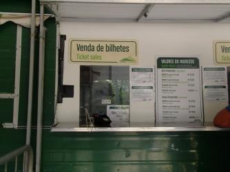 Oficina venta tickets para subir al Cristo Rendedor, Río de Janeiro