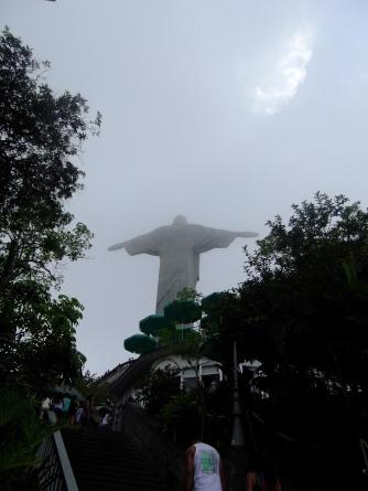 Cristo Rendedor desde abajo, Rio de Janeiro