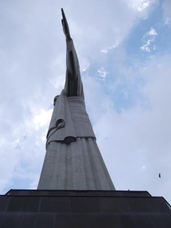 Cristo Rendedor de lado, Rio de Janeiro
