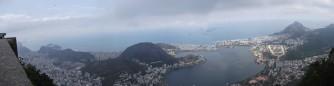 Vistas de Rio desde el Cristo Rendedor