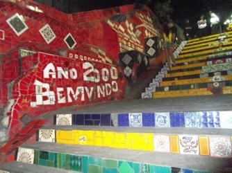 Escalera de Selarón, escalera de Selarón en Río de Janeiro
