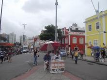 Puesto de comida en Florianópolis