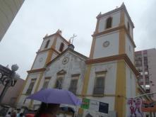 Verano en Florianópolis, calle en el centro