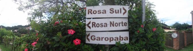Indicaciones a las playas en Praia do Rosa