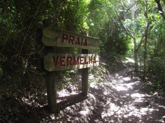 Trekking en Praia do Rosa