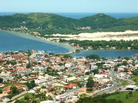 las mejores playas de florianopolis Vista panorámica de la Lagoa de Concençao, fiestas, paddle surf y gente guapa