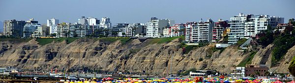 Visitar Lima Malecón de la línea de costa en Barranco