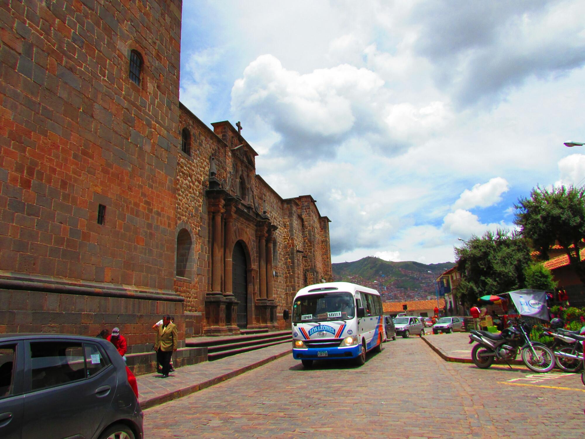 Iglesia de Coricancha, puerta principal, Cuzco