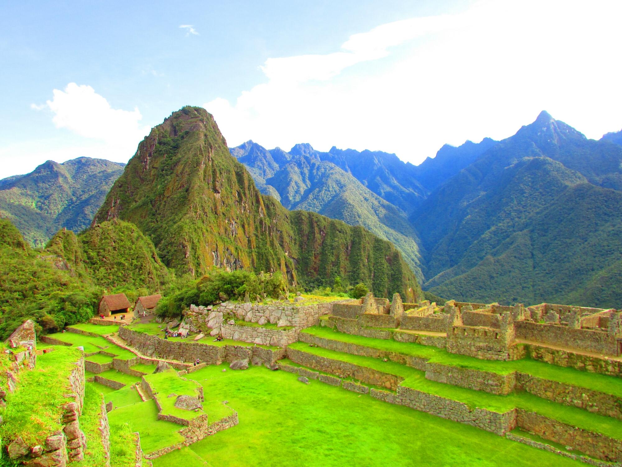 terrazas de cultivo de Machu Picchu en Cuzco