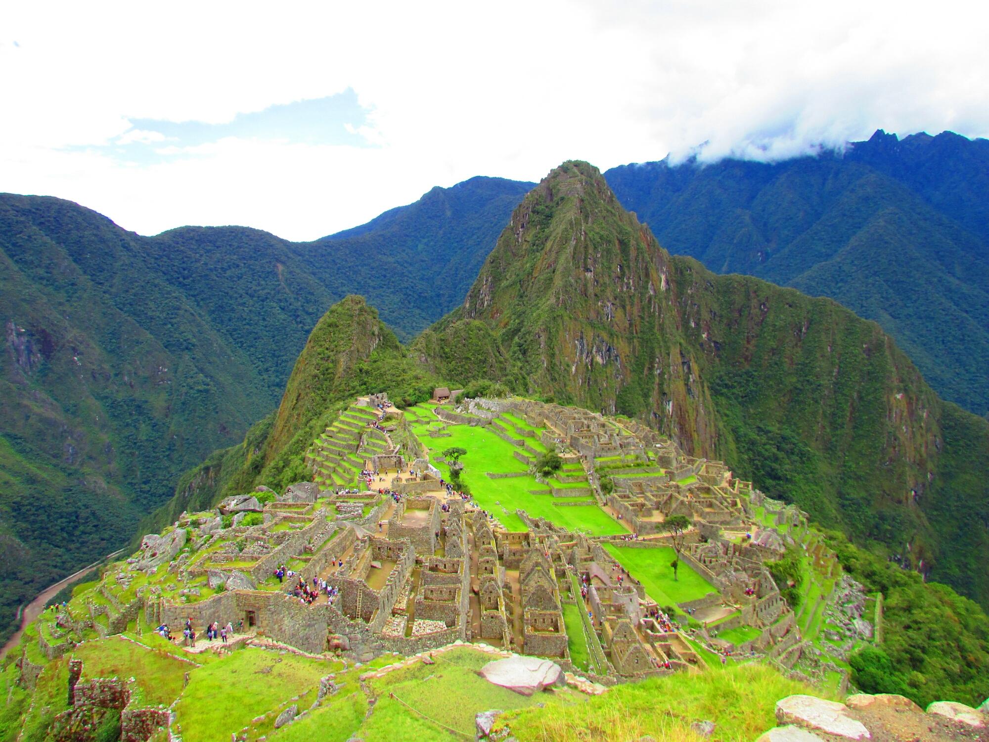 Precioso Machu Picchu la ciudadela inca más importante de Perú cerca de Cuzco