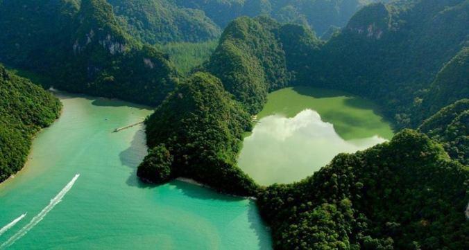 lago de la doncella embarazada lake of pregnan maiden langkawi